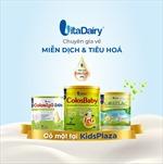Sản phẩm VitaDairy đã chính thức có mặt tại hệ thống cửa hàng Kids Plaza