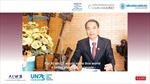 Chủ tịch Trầm hương Khánh Hòa phát biểu tại diễn đàn Liên minh Lãnh đạo Thế giới
