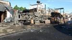 Xe bồn chạy gần 100km/giờ trước khi gây tai nạn, bốc cháy làm 6 người thiệt mạng