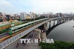 Đoàn tàu tuyến đường sắt đô thị Cát Linh - Hà Đông chạy thử