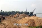 Lợi dụng khai thác cát phục vụ xây dựng nông thôn mới để bán kiếm lời