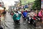 Cần Thơ lại ngập nặng sau cơn mưa lớn