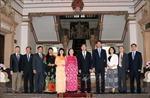 TP.HCM tăng cường trao đổi công tác đại biểu nhân dân với TP Thượng Hải, Trung Quốc