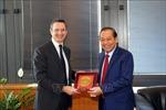 Phó Thủ tướng Trương Hòa Bình thăm làm việc với Hội đồng Tư pháp quốc gia Italy
