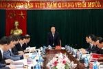 Đồng chí Võ Văn Thưởng kiểm tra công tác phòng, chống tham nhũng tại Nghệ An