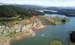 Làm rõ việc xây dựng hàng chục căn nhà gỗ trong Di tích quốc gia hồ Tuyền Lâm
