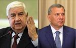 Nga, Syria ký kết nhiều thỏa thuận hợp tác kinh tế