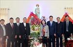 Trưởng ban Dân vận Trung ương thăm, chúc mừng Giáng sinh Giáo phận Bùi Chu