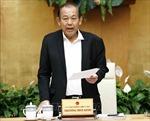 Phó Thủ tướng Thường trực Chính phủ Trương Hòa Bình yêu cầu điều tra, xử lý các vấn đề xã hội gây bức xúc