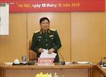 Thường vụ Quân ủy Trung ương làm việc với Tập đoàn Công nghiệp - Viễn thông Quân đội