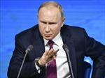 Tổng thống Putin: Nga không tham gia vào cuộc chạy đua vũ trang mới