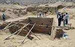 Phát hiện lăng mộ cổ thuộc nền văn minh Inca ở Peru