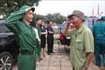 Thanh niên Quân khu 4 phấn khởi lên đường nhập ngũ