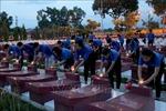 Thắp nến tri ân các Anh hùng Liệt sỹ tại Nghĩa trang Liệt sỹ tỉnh Bình Thuận
