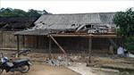 Lốc xoáy kèm mưa đá gây thiệt hại ở huyện miền núi Quế Phong, Nghệ An