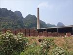 Nhà máy Bình An sản xuất 'chui' gạch tuynel vẫn chưa bị đình chỉ