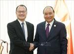 Thủ tướng Nguyễn Xuân Phúc tiếp một số doanh nghiệp, nhà đầu tư nước ngoài