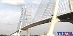 Thông xe cầu Vàm Cống bắc qua sông Hậu