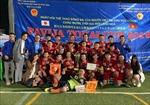 Giải bóng đá gắn kết cộng đồng Việt Nam tại Nhật Bản