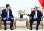 Thủ tướng Nguyễn Xuân Phúc tiếp Tổng giám đốc Tập đoàn JG, Philippines