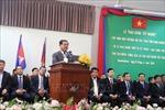 Phó Thủ tướng Sar Kheng cảm ơn quà tặng của Việt Nam cho ngành giáo dục Campuchia