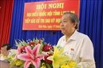 Phó Thủ tướng Trương Hòa Bình tiếp xúc cử tri huyện Đức Hòa, Long An