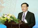 Phó Thủ tướng Vương Đình Huệ tiếp Bộ trưởng Kế hoạch Tài chính Myanmar
