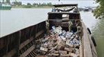 Nhập lậu 7 tấn sắt phế liệu từ Campuchia về Việt Nam