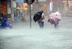 Nhiều chuyến bay ở Đài Loan (Trung Quốc) bị hủy do bão