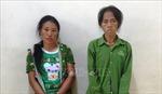 Hai 'nữ quái' Sơn La buôn ma túy bị chặn bắt ở Yên Bái