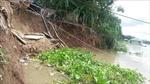An Giang công bố tình huống khẩn cấp sạt lở bờ Sông Hậu