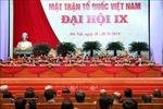 Danh sách Chủ tịch và các Phó Chủ tịch Ủy ban Trung ương MTTQ Việt Nam khóa IX