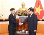 Phó Thủ tướng Phạm Bình Minh tiếp Đại sứ Cộng hòa Ấn Độ tại Việt Nam