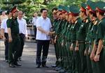 Phó Thủ tướng Vương Đình Huệ làm việc tại Binh đoàn 15, tỉnh Gia Lai