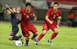 Tuấn Anh cùng Quế Ngọc Hải mang tin mừng đến cho HLV Park Hang-seo