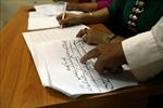 Lớp học chữ Thái cổ ở Điện Biên