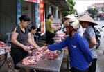 Giá thịt lợn ổn định ở mức cao