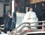 Thủ tướng Shinzo Abe chủ trì tiệc chiêu đãi quan khách dự lễ đăng quang của Nhật hoàng