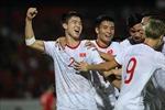Duy Mạnh lập công, mang về bàn thắng đầu tiên cho tuyển Việt Nam trước tuyển Indonesia