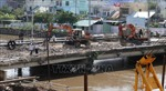 Kiên Giang đắp đập ngăn mặn và đóng cống để giữ nước ngọt