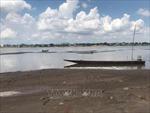 Nước sông Mekong tại tỉnh Nakhon Phanom của Thái Lan đang cạn nhanh