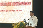 Chủ tịch UBND TP Hà Nội giải đáp nhiều vấn đề 'nóng' cử tri quan tâm