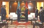 Chủ tịch Hạ viện Cộng hòa Kazakhstan thăm và làm việc tại Đà Nẵng