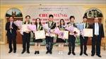 Tuyên dương đoàn học sinh đạt thành tích xuất sắc tại Olympic Khoa học trẻ quốc tế 2019