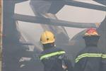 Cháy lớn tại Công ty sản xuất gia công nệm mút