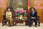 Phó Thủ tướng Vương quốc Campuchia thăm, chúc Tết tại tỉnh Long An