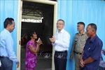 Bàn giao nhà mới cho 3 hộ gia đình gốc Việt bị hỏa hoạn ở Phnom Penh