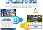 5 khách sạn hạng sang tại Việt Nam được Forbes Travel Guide vinh danh
