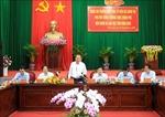 Phó Thủ tướng Trương Hòa Bình thăm và làm việc tại Vĩnh Long