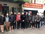 11 đối tượng tụ tập sử dụng ma tuý ở Đông Ngạc, Hà Nội
